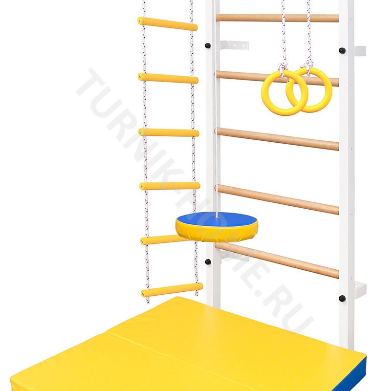 Детская стенка (деревянные ступени)