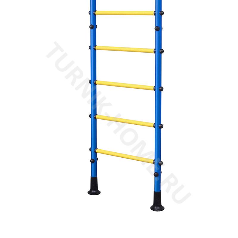 Шведская стенка для детей в распор (синяя)