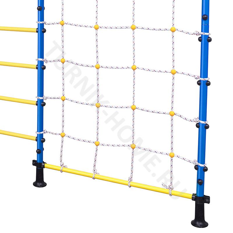 ДСК с сеткой в распор синий