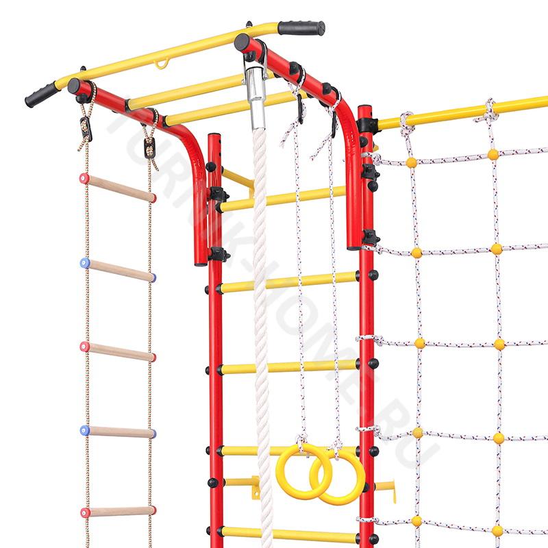 Шведская стенка для детей с сеткой